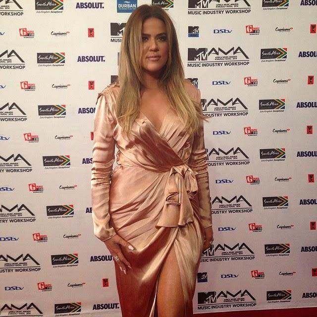 khloe kardashian mtv africa awards 0