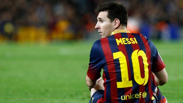 Messi Breaks Raul's Record, messi