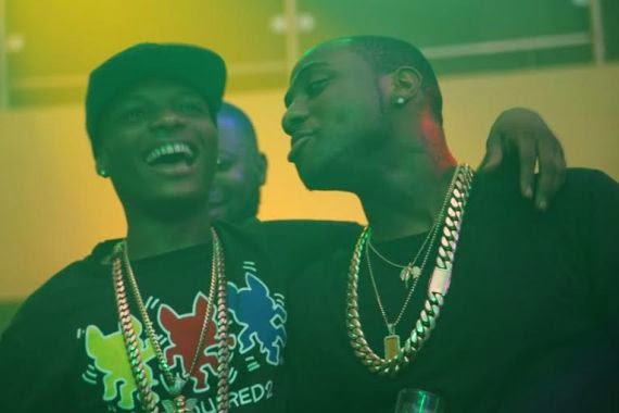 Davido and Wizkid reconcile 0