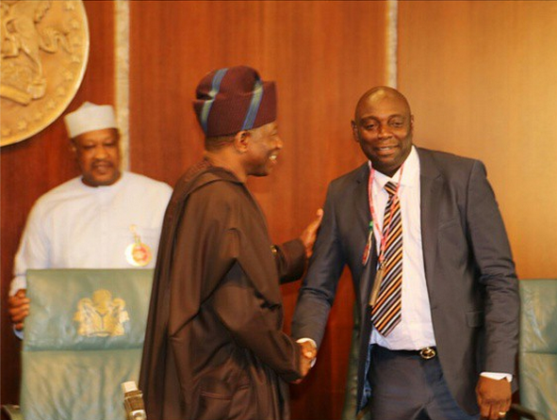 Nollywood Stars Visit President Jonathan