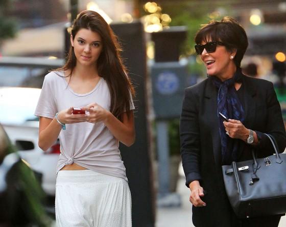 Kendall Jenner Fires Her Mum