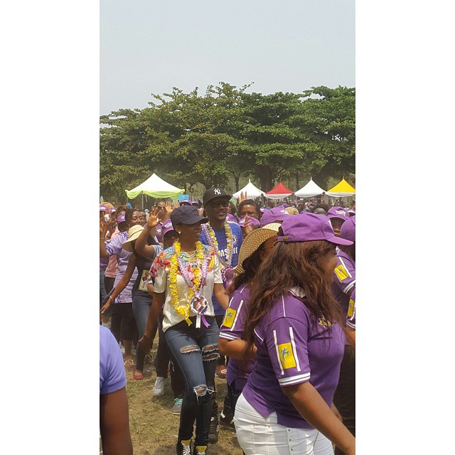 2face and Annie Attends Their Daughter's Sports Day together