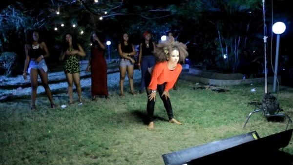 Kiss Daniel Shoots Video To 'Woju Remix' ft Davido, Tiwa