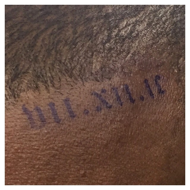 Kanye West Tattoos North West