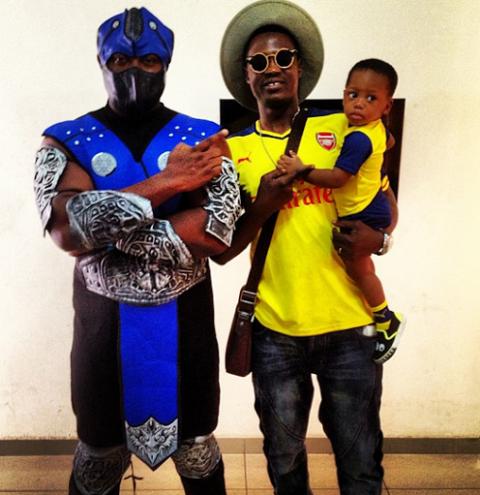 Sound Sultan's Son's Costume