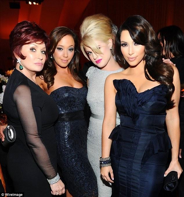 Sharon Osbourne Slams The Kardashians
