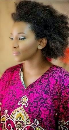 Genevieve Nnaji Still Rocking Her Natural Hair
