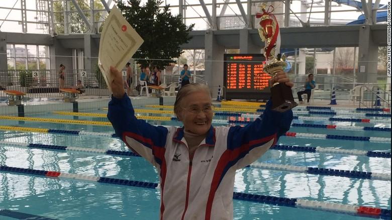 Centenarian Swimmer