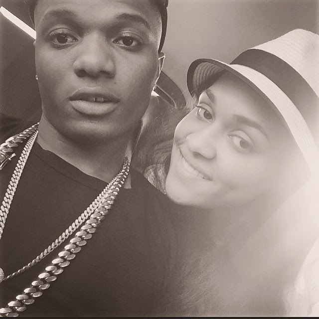 Wizkid & Tania Omotayo All Loved Up