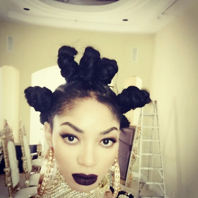 Dencia's New Hairstyle