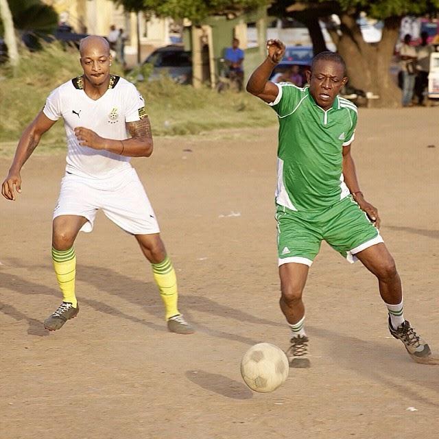 Ik Ogbonna And Nkem Owoh Football Skills