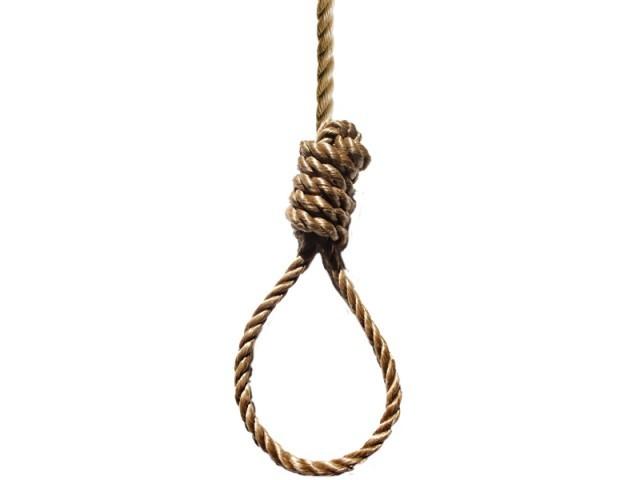 Dies of hanging