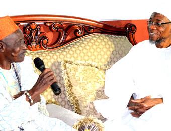 Ooni and Aregbesola