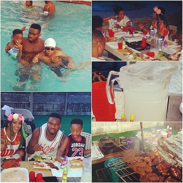 Adaeze And Family3