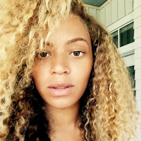 Beyonce Makeup Free
