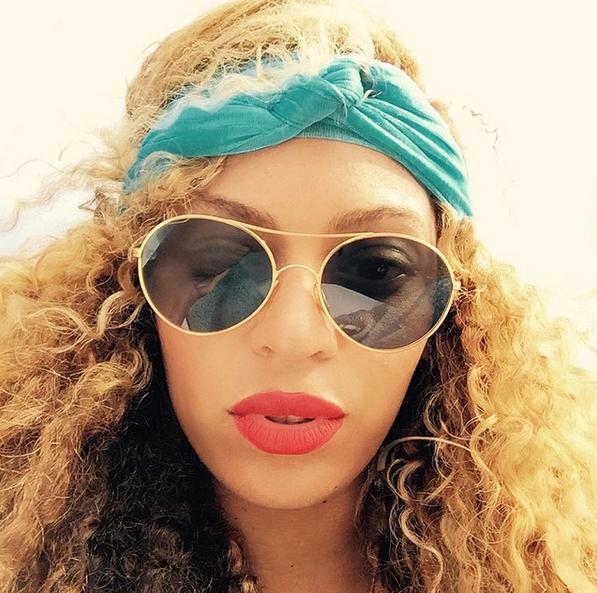 Beyonce Makeup Free2