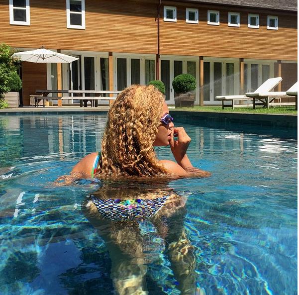 Beyonce Makeup Free4