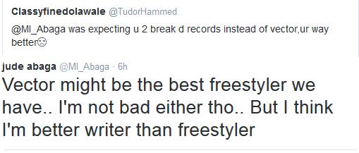 MI Freestyle Tweet