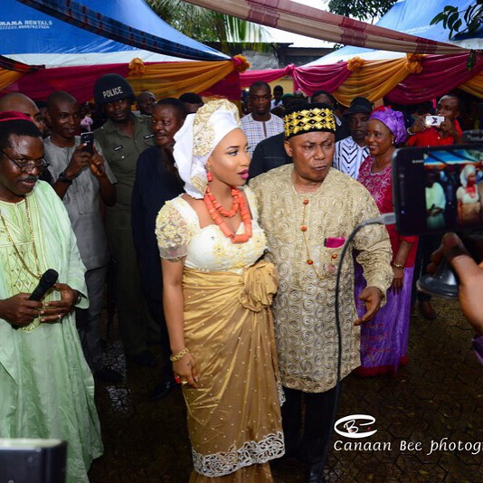 Tonto Wedding 1
