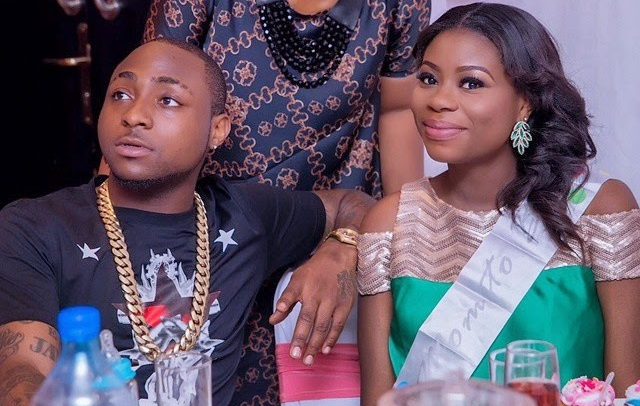 Davido Pictured with his Baby mama, Sophie Momodu