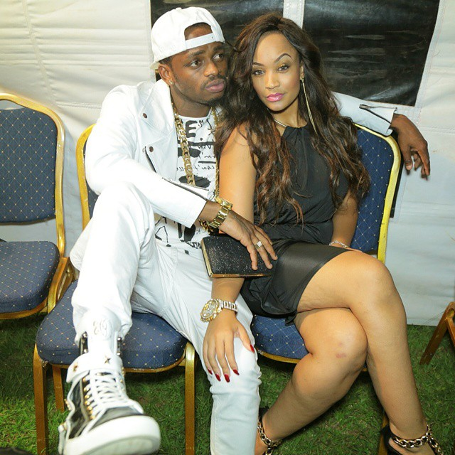 diamond platnumz and his girlfriend zari welcomes baby girl
