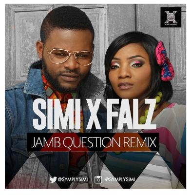 simi jamb question remix, jamb question remix mp3, simi ft. falz, jamb question remix ft. falz