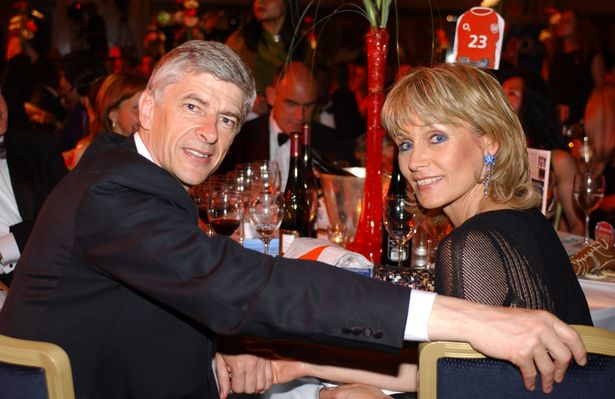 Arsene Wenger And Wife