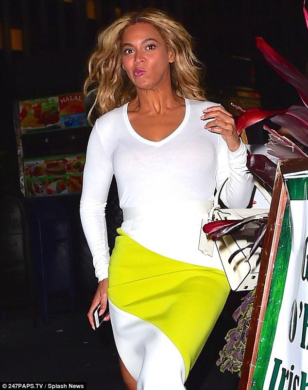 Beyonce Goof1