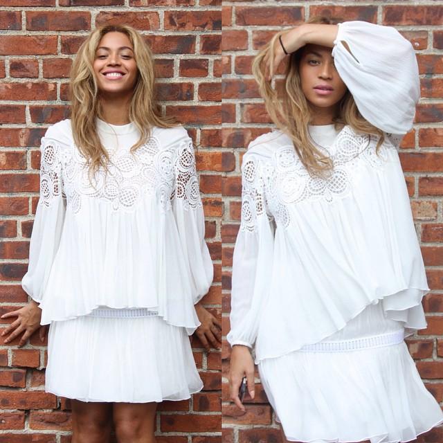 Beyonce White