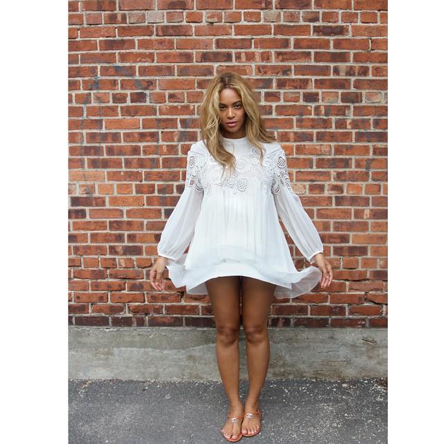 Beyonce White2