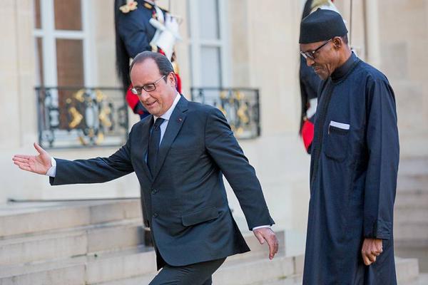 Buhari In France