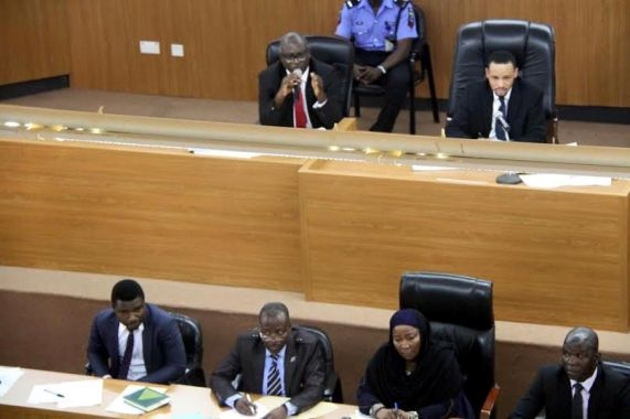 Code Of Conduct Tribunal Sitting Today.