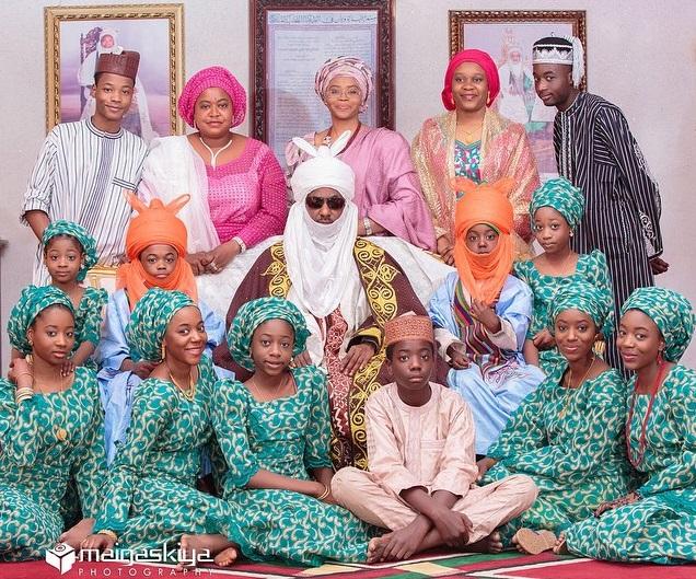Emir-of-Kano-Sanusi-Family