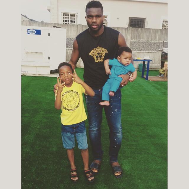 Joseph Yobo Family1