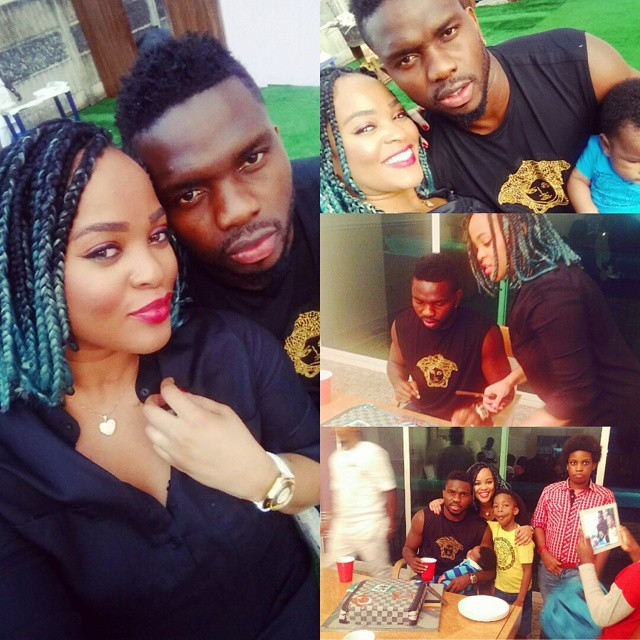Joseph Yobo Family2