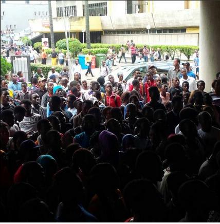 Oluchi-Protest