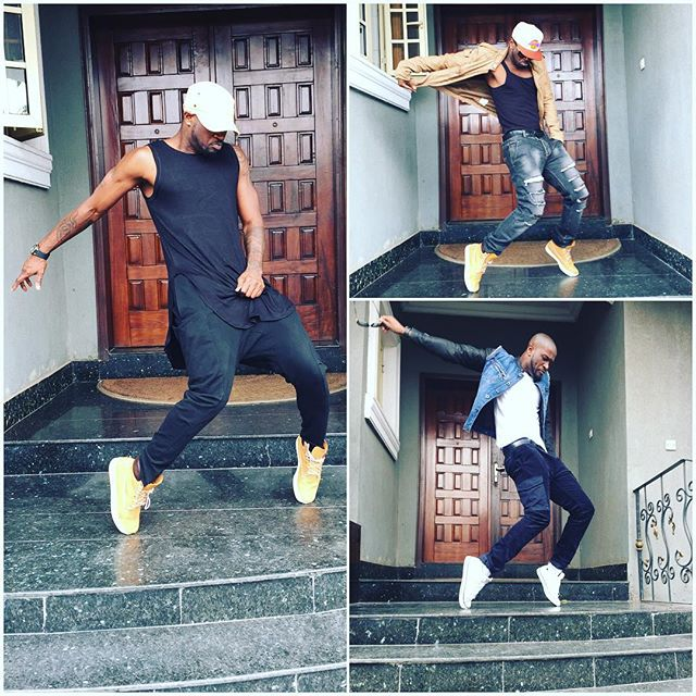 Peter Okoye Dance Moves