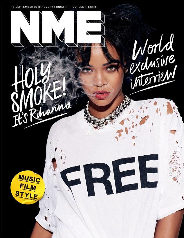 Rihanna NME