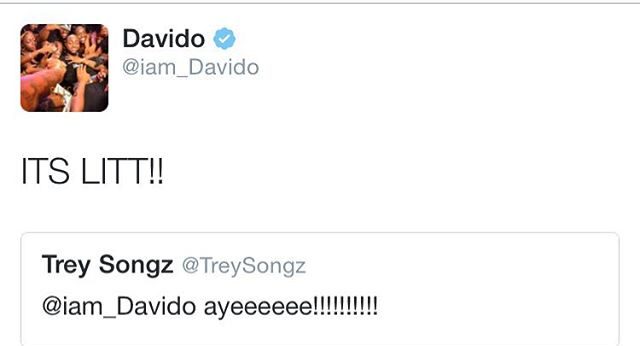 Trey Songz Davido 1