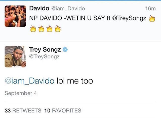 Trey Songz Davido