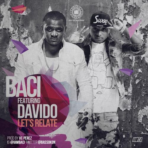 baci ft davido, baci lets relate ft davido, baci ft davido lets relate mp3, download baci ft davido