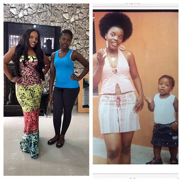 Empress Njamah and Niece
