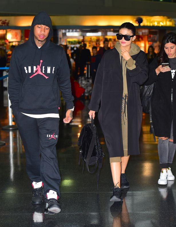 Kylie N Tyga Airport