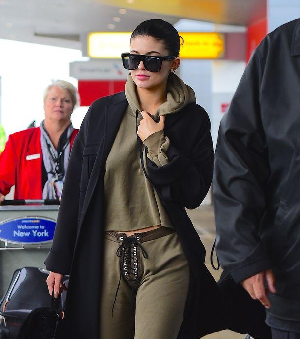 Kylie N Tyga Airport1