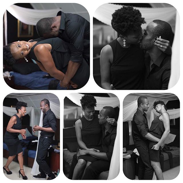 Nse Ikpe Etim And Hubby