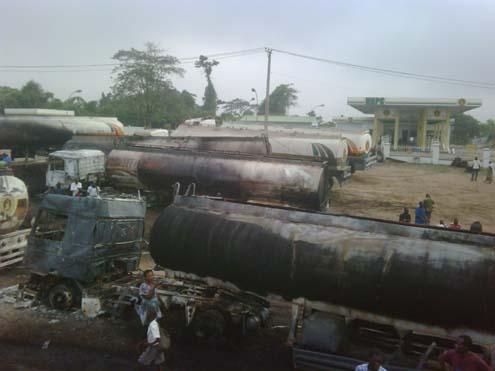 Tanker Fire Oshodi