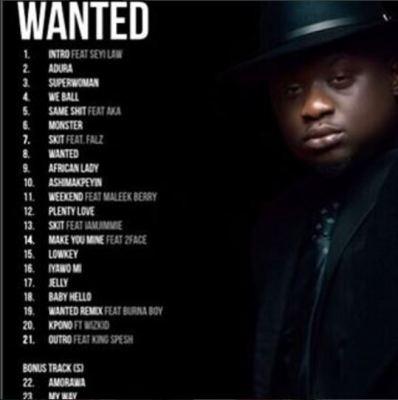 Wande-album-tracklist