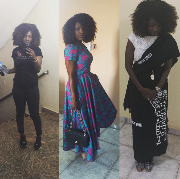 See Annie Idibia's 3 Cool Outfits For 2Face's Coronation In