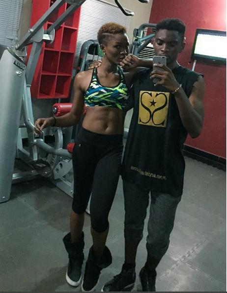 Eva Alordiah Gym1