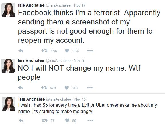 Isis Anchalee Tweets